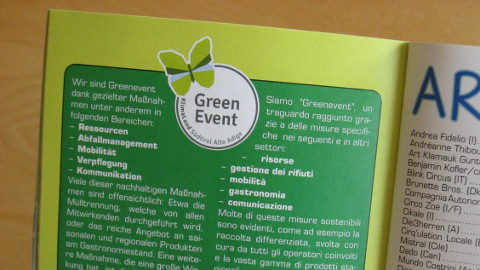 Video: «GreenEvent: sempre più eventi ecologici in provincia di Bolzano. GNews Production»