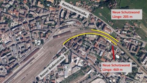 Video: «Lärmschutzwände Zone Bozner Boden-Rentsch:  Startschuss der Arbeiten»