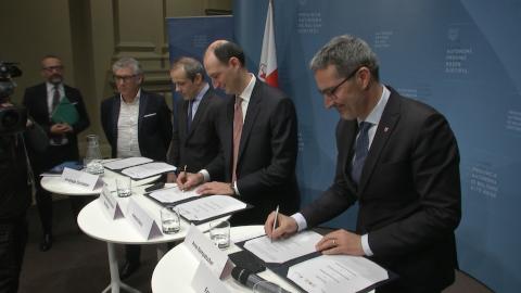 Video: «Rahmenvereinbarung zwischen dem Land Südtirol und der EIB-Gruppe»