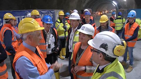Video: «Brenner Basistunnel: höchste Sicherheit und Technologie»