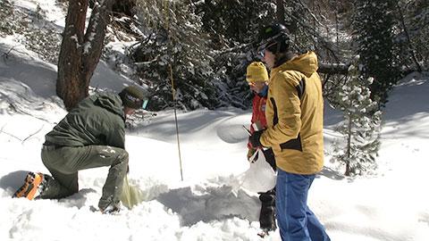 Video: «Wieviel Wasser ist im Schnee?»