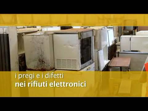 Video: «I pregi e difetti nei rifiuti elettronici»