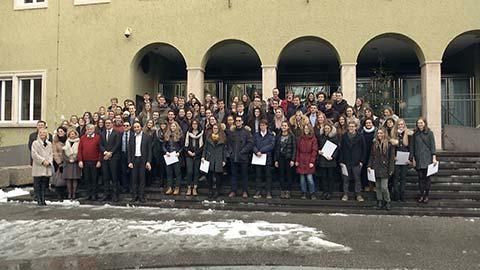 Video: «Premiati i migliori maturandi della provincia di Bolzano»