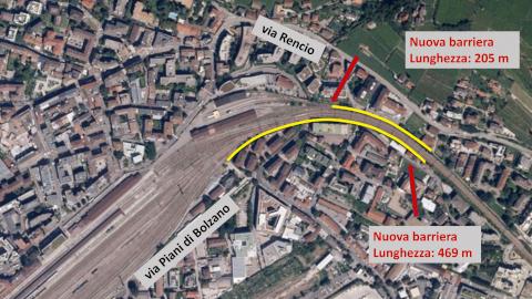 Video: «Barriere antirumore Piani di Bolzano-Rencio. G.News Production»