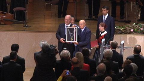 Video: «40 ani Autonomia nueva: uneranzes a Napolitano y Fischer»