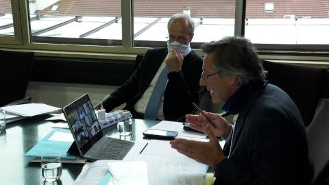 Video: «Prima riunione virtuale oggi per la Commissione esperti Coronavirus»