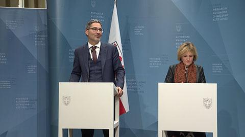 Video: «Le decisioni della Giunta Provinciale di Bolzano 12.03.2019»