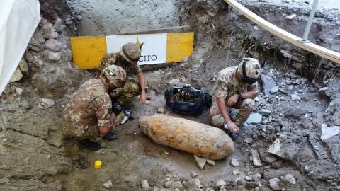 Video: «Entschärfung der Fliegerbombe am Verdiplatz»