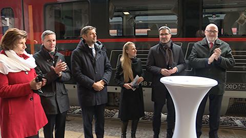 Video: «Direkt-Railjet von Bozen nach Wien: Sternstunde für den grenzüberschreitenden Fernverkehr»