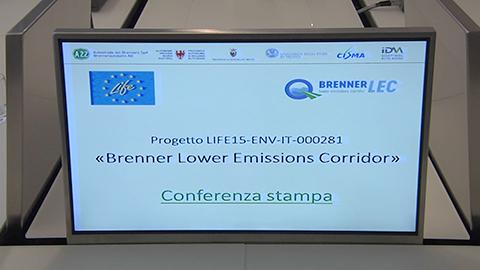 Video: «BrennerLec: un corridorio lungo l'A22 ad emissioni ridotte tra Bolzano e Rovereto»