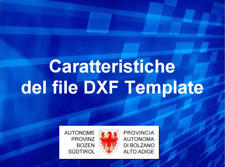 Video: «3 Caratteristiche del file DXF template»