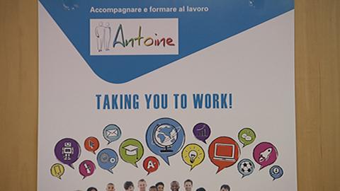 """Video: «""""Antoine"""" neue Bildungsmöglichkeit für Arbeitssuchende»"""