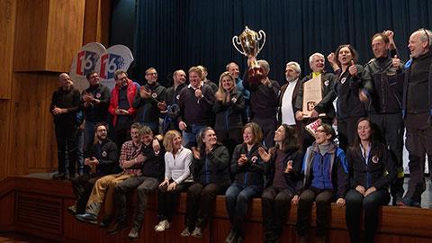 Video: «Skimeisterschaft des Nationalen Italienischen Zivilschutzes im Pustertal abgeschlossen»