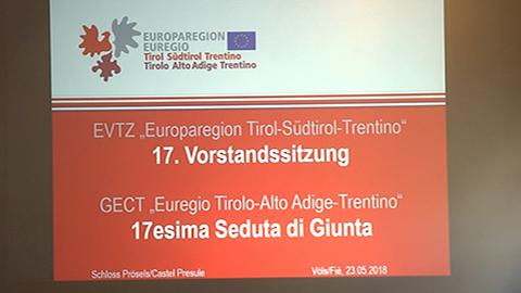 Video: «Sitzung des EVTZ-Vorstands: Reduzierung des LKW-Verkehrs eine der Prioritäten»