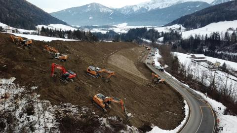 Video: «Pustertaler Staatsstraße: Letzte Arbeiten zur Sicherung der Straße»