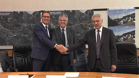 Video: «Energieversorgung: Abkommen Land-RFI-Terna, ein Qualitätssprung»