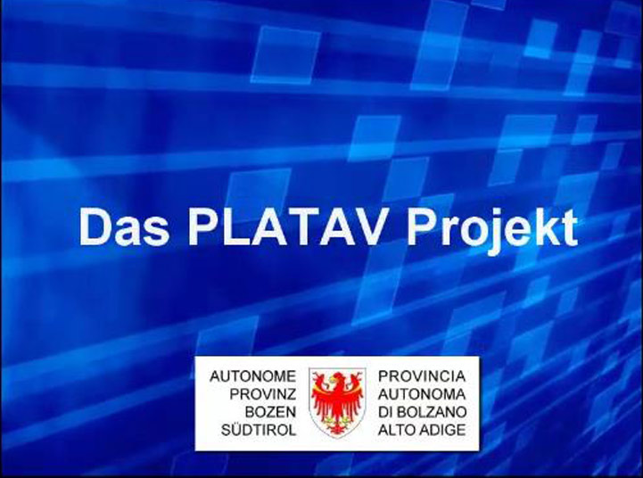 Video: «2 Das PLATAV Projekt»