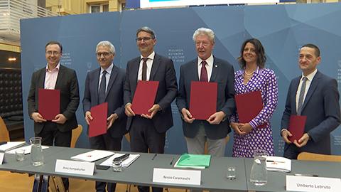 Video: «Areal Bozen, Programmabkommen unterzeichnet»