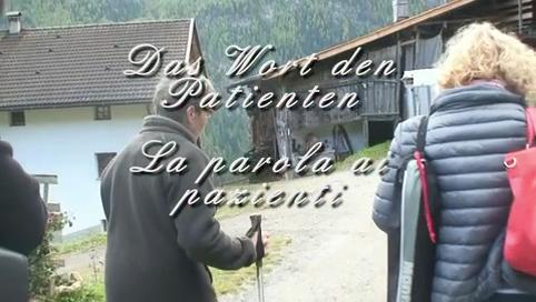 Video: «La parola ai pazienti»