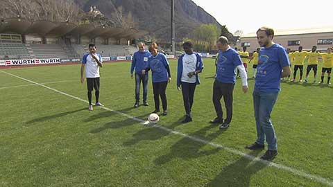 Video: «Ein Tritt gegen Vorurteile! Der Sport als Promotor  der Werte.»