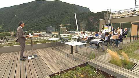 Video: «Landesrat Theiner erläutert das Erreichte und legt die neuen Ziele vor»