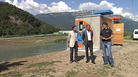 Video: «Die Erneuerung des Pegelmessnetzes schreitet voran»