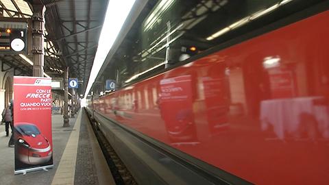 Video: «Partito il primo treno diretto Bolzano - Milano»