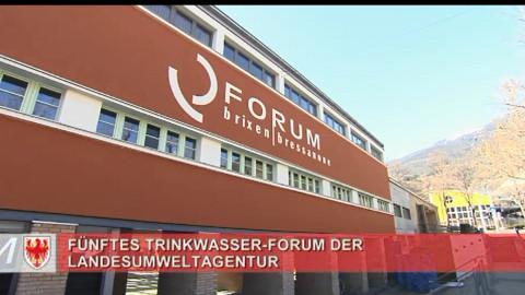Video: «V. Trinkwasser-Forum: Wassernutzung und Nachhaltigkeit im Fokus. GNews Production»