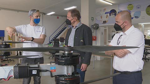 Video: «Lieferung von Lebensmittel und Gütern an Schutzhütten mit Drohnen»