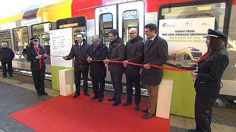Video: «Nuovi treni FLIRT, mobilità sostenibile e qualità del servizio»