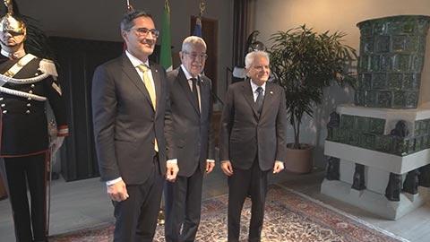 Video: «Mattarella und Van der Bellen loben Südtirol»