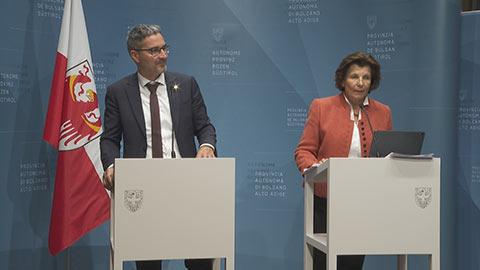 Video: «Beschlüsse der Landesregierung vom 22.10.2019»
