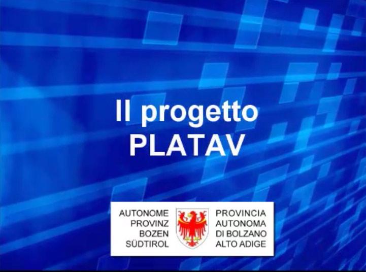 Video: «2 Il progetto PLATAV»