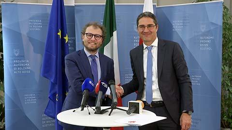 Video: «Minister Lotti dankt LH Kompatscher für gute Zusammenarbeit»