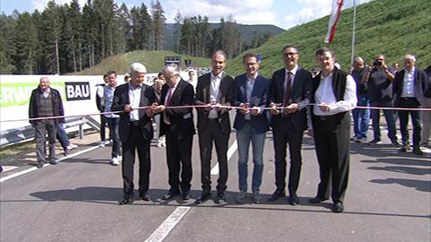 Video: «Neue Ausfahrt Bruneck Mitte»