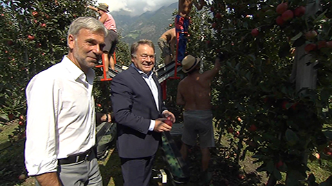 Video: «Landwirtschaft: Zusammenarbeit zwischen Südtirol und Bayern»