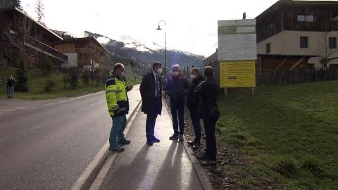 Video: «Wengen: Arbeiten auf der Landesstraße zwischen Ciampló und Lunz starten»