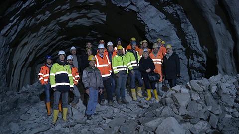 """Video: «Ultental: Neuer Tunnel """"Kohl"""" bei St. Pankraz in nächsten Jahr fertig»"""