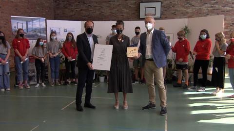"""Video: «Erste """"KlimaSchule"""" ausgezeichnet»"""