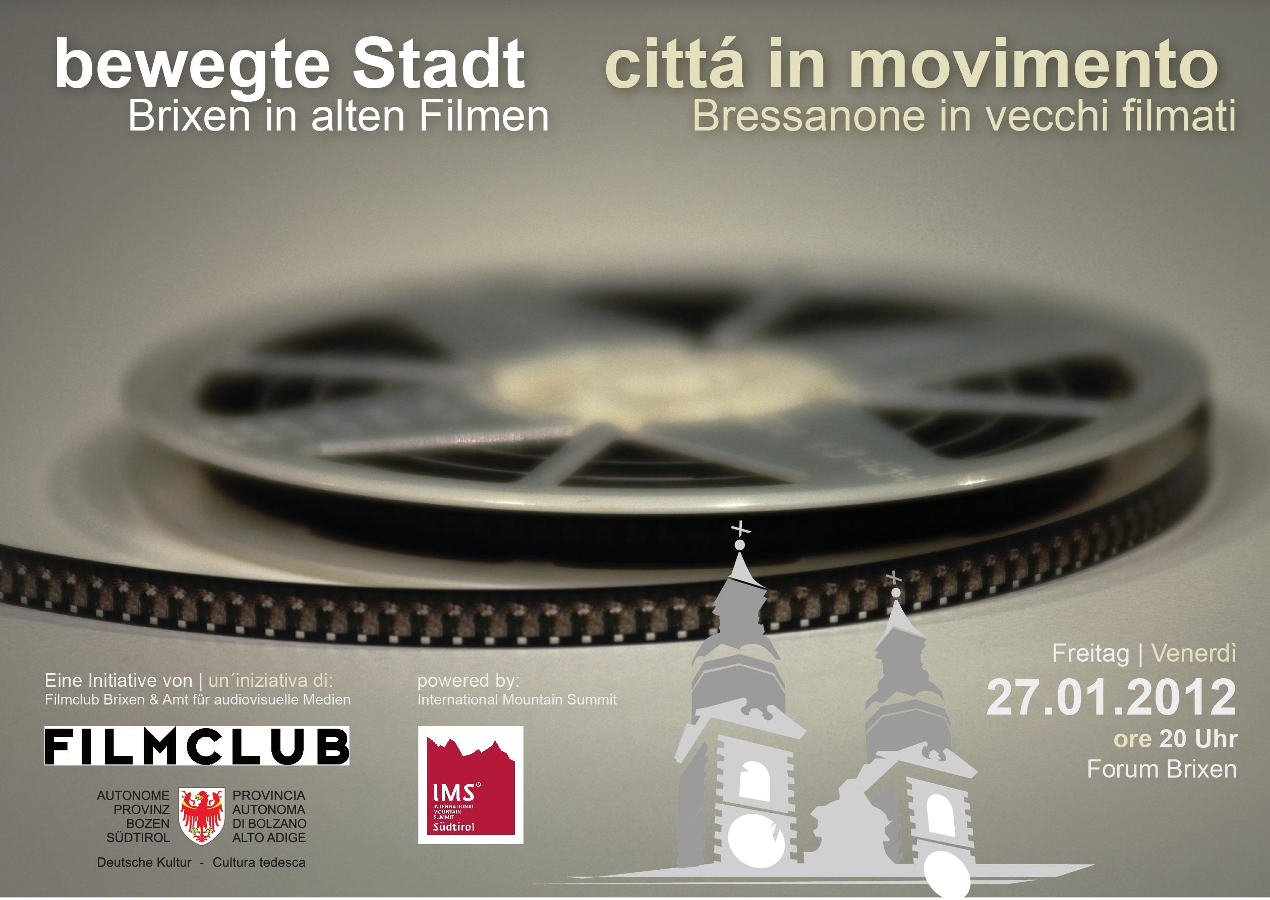 "Video: «""bewegte Stadt"" - Brixen in alten Filmen»"