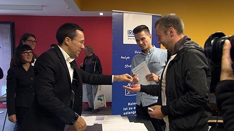Video: «Cohousing in Rosenbach: Schlüsselübergabe an 24 Jugendliche»