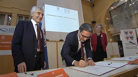 """Video: «Abkommen NISF/INPS mit Region: 46.850 ERHALTEN DAS SCHREIBEN """"Meine Rente""""»"""