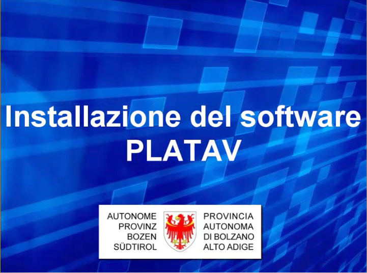 Video: «8 Installazione del software PLATAV»