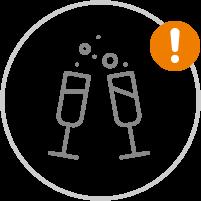 Feste und Events | Achtung Einschränkungen