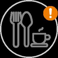 Gastronomie | Achtung Einschränkungen