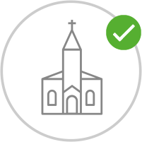 Kirchenbesuche | Keine Änderung