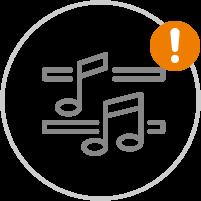 Musikkapellen und Chöre | Achtung Einschränkungen