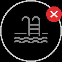 Schwimmbäder, Hallenbäder, Thermalanlagen, Turnhallen | Achtung Verbote
