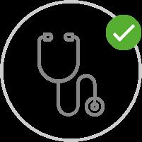 Selbstüberwachung und  Arzt | Keine Änderung