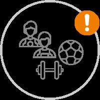 Bewegung und Sport im Freien | Achtung Einschränkungen